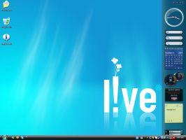 My Current Desktop by HeDzZaTiOn