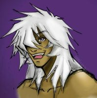 Thief King Bakura's Smile by Sami01