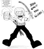 Zoro_Gag by kariesteves