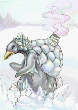 penguin from north by quttles