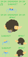 Surskit Afro by bagleopard