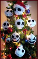 Plush Jack Tree Ornaments by OneBadHat