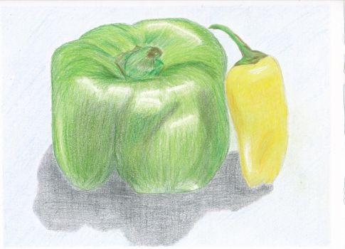 Peppers by Benjorr