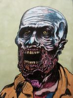 Meatchops the Zombie by DustyPaintbrush