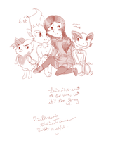 My babies by Hollsterweelskitty