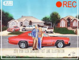 The Life Story Of A 1970 Chevy Chevelle (Part 42) by FastLaneIllustration
