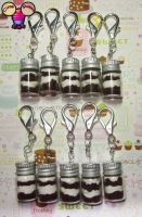 10 Cake In a Jar Keychains by pinknikki