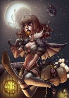 Just Another Halloween Night by TimareeZadel