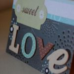 SWEET LOVE Handmade Card by hexmedia