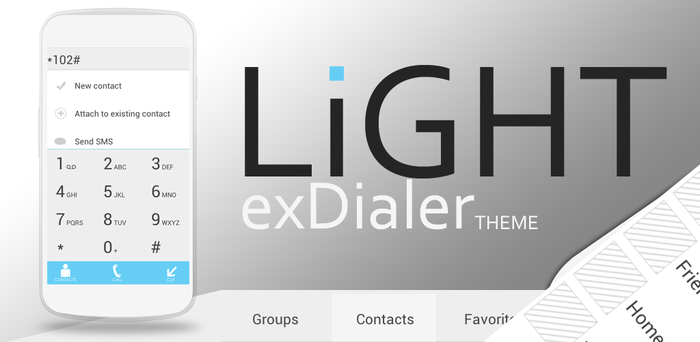 Light Theme for exDialer by Karsakoff