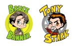 AVENGERS - chibi bros by FerioWind