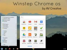 Winstep Chrome os Style by Alberttovishi