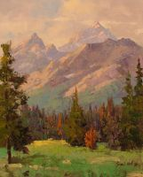 Glorious Tetons by rooze23