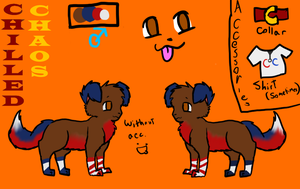 Chilled Chaos Dog Ref by AprilTheKitty