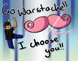 Markiplier Icon prize: Warstache by Nicolargh