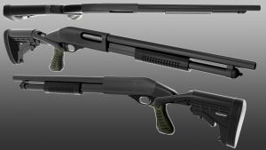 Remington 870 Express Tactical Spec Ops II Model by Wallcrawler62