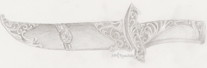 Dagger Sketch by ChaosSoda