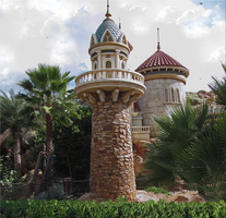 Prince Eric Castle Turret by WDWParksGal