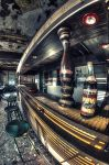 abandoned bar by Lupardus-lu