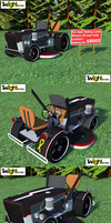 Riding Lawn Mower by MSgtHaas