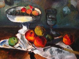 Still Life with Compotier by yensidtlaw1969