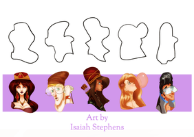 Design a Character August Shape Challenge by IsaiahStephens