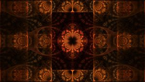 Viewing the Fractal Matrix by Trip-Artist