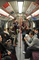 London - The Tube by Tavarin
