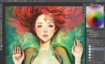 flame princess WIP by waywardgal
