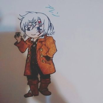 Chibi Allen by EMP-Ray
