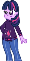 Equestria Girls Twilight by StarryOak