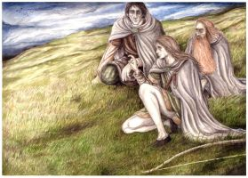 Awaiting the Riders of Rohan by peet