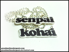Senpai and Kohai Set by GrandmaThunderpants