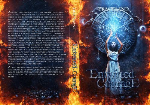 Entwined Courage Book cover .. by Ash-3xpired