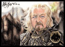 LotR: King Theoden by Winds-Blade