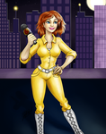 April O'Neil - Channel 6 News by Miserie