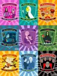 Harry Potter and Muggle TV by AgriAgripina