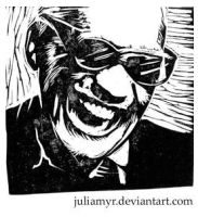 Ray Charles by JuliaMyr