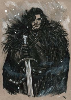 Jon Snow by DenisM79