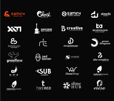 A small part of my logos by thesamirH