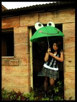 me.and.my.umbrella by Lisa-Gane