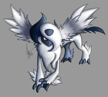 Mega Absol by Vederation