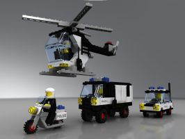 LEGO police squad by zpaolo