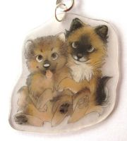 Puppies charm by SirKittenpaws