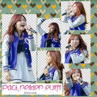 Pack png render Eunji by bitchie-mie