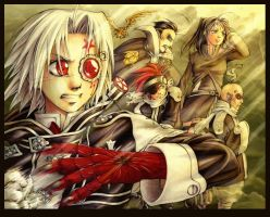 D.Gray-man - Black Wave by kunika
