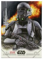Deathtrooper Artist Proof by Erik-Maell