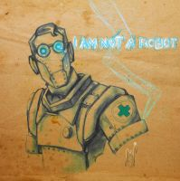 TF2: I am not a ROBOT by AmberRockets