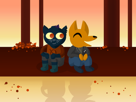 Night in the Woods by ServerUnit28-Br0ken