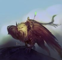 Speed Paint 24- Great Griffin by AnthonyDevine